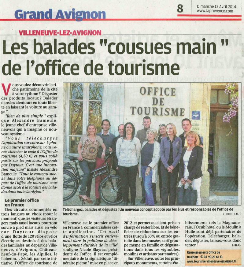 Office du tourisme de Villeneuve les Avignon