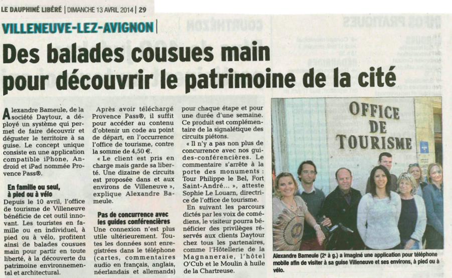 Office de tourisme de Villeneuve les Avignon